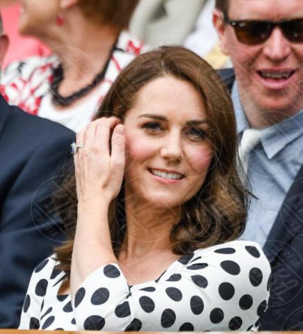 Kate Middleton - Londra - 03-07-2017 - Kate Middleton a Wimbledon: i pois sono di Dolce & Gabbana