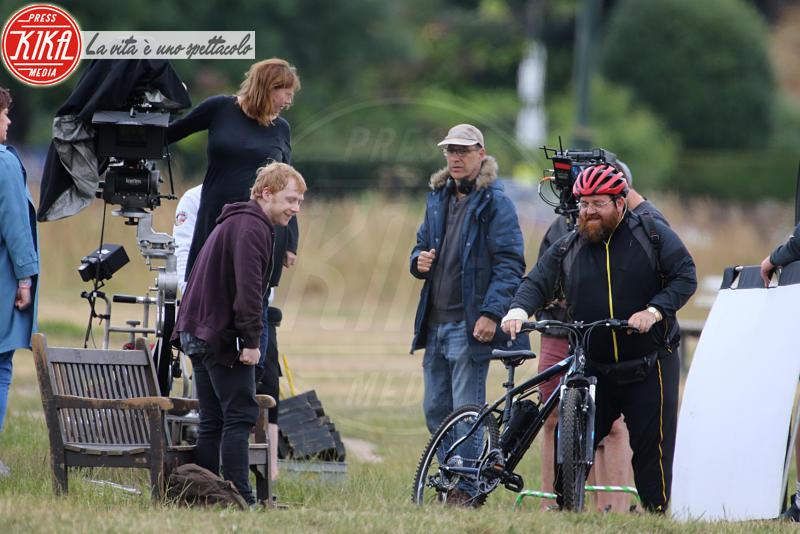 Nick Frost, Rupert Grint - Londra - 03-07-2017 - Rupert Grint, il Ron di Harry Potter è un fumatore accanito