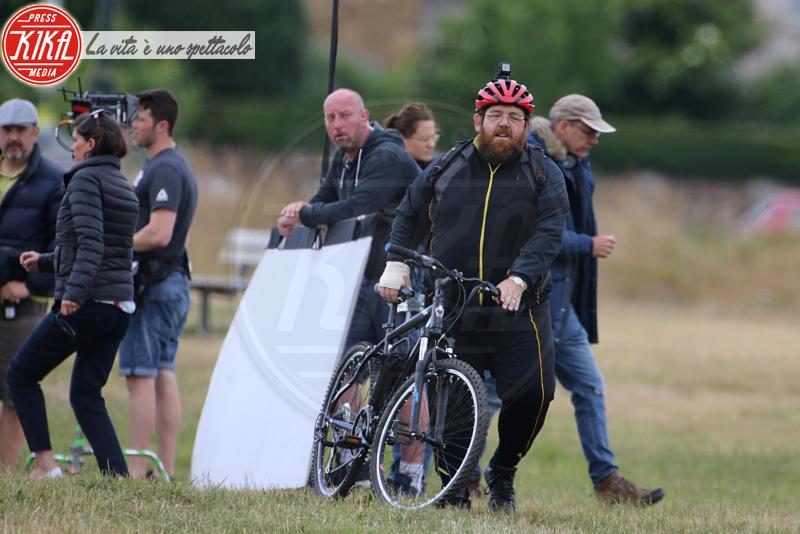 Nick Frost - Londra - 03-07-2017 - Rupert Grint, il Ron di Harry Potter è un fumatore accanito