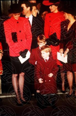 20-12-1988 - Kate Middleton e Lady Diana, lo stile è lo stesso