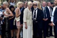 Karl Lagerfeld, Tilda Swinton - Parigi - 04-07-2017 - Karl Lagerfeld, ecco le sue ultime volontà