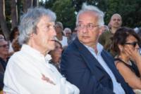 Walter Veltroni, Carlo Vanzina - Roma - 05-07-2017 - L'ultimo saluto a Fantozzi: funerale laico alla Casa del Cinema