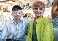 Plinio Fernando, Milena Vukotic - Roma - 05-07-2017 - L'ultimo saluto a Fantozzi: funerale laico alla Casa del Cinema