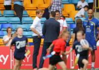 Leeds - 06-07-2017 - Il principe Harry spiega come entrare duro a rugby!