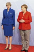 Theresa May, Angela Merkel - Amburgo - 07-07-2017 - 8 marzo: donne al comando, il sesso 'debole' al potere