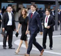 Sophie Grégoire Trudeau, Justin Trudeau - Amburgo - 07-07-2017 - G20 di Amburgo: centinaia di civili e agenti feriti. Le foto