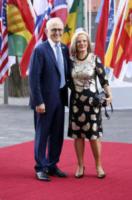 Lucy Turnbull, Malcolm Turnbull - Amburgo - 07-07-2017 - G20 di Amburgo: centinaia di civili e agenti feriti. Le foto