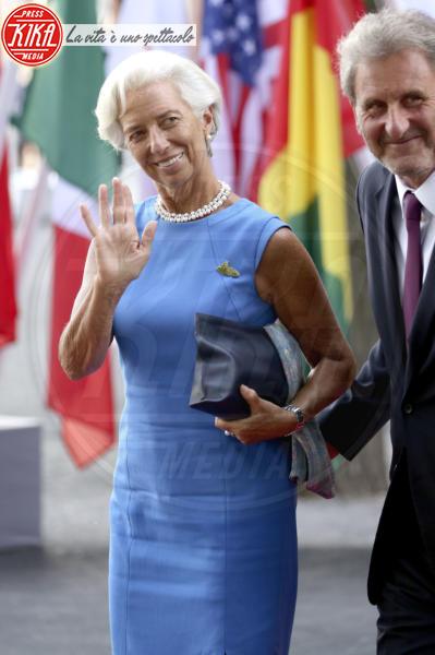 Xavier Giocanti, Christine Lagarde - Amburgo - 07-07-2017 - G20 di Amburgo: centinaia di civili e agenti feriti. Le foto