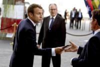 Emmanuel Macron - Amburgo - 07-07-2017 - G20 di Amburgo: centinaia di civili e agenti feriti. Le foto
