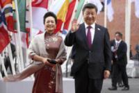 Peng Liyuan, Xi Jinping - Amburgo - 07-07-2017 - G20 di Amburgo: centinaia di civili e agenti feriti. Le foto