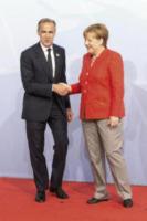 Malcolm Turnbull, Angela Merkel - Amburgo - 07-07-2017 - G20 di Amburgo: centinaia di civili e agenti feriti. Le foto