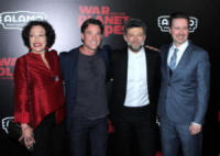 Karin Konoval, Terry Notary, Matt Reeves, Andy Serkis - New York - 11-07-2017 - The War - Il Pianeta delle Scimmie: la premiere newyorkese