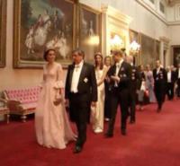 Kate Middleton - 13-07-2017 - Kate Middleton alla cena di stato con la tiara di Lady Diana