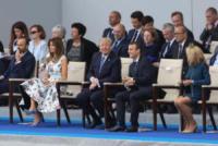 Brigitte Macron, Emmanuel Macron, Melania Trump, Donald Trump - Parigi - 14-07-2017 - 14 luglio, Macron mostra i