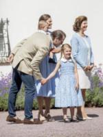 Principessa Estelle di Svezia, Principe Oscar di Svezia, Principessa Victoria di Svezia, Principe Daniel di Svezia - Borgholm - 15-07-2017 - Principessa Victoria di Svezia, buon compleanno!