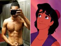 Mena Massoud, Aladdin - Hollywood - 13-01-2017 - Tatuato e muscoloso: ecco il nuovo Aladdin!