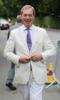 Nigel Farage - Londra - 16-07-2017 - Finale maschile di Wimbledon: gara di look sugli spalti