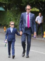 Greg Rusedski - Londra - 16-07-2017 - Finale maschile di Wimbledon: gara di look sugli spalti