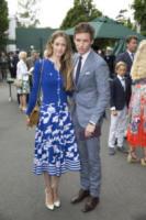 Hannah Bagshawe, Eddie Redmayne - Londra - 16-07-2017 - Finale maschile di Wimbledon: gara di look sugli spalti