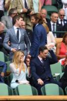 Eddie Redmayne, Bradley Cooper - Londra - 16-07-2017 - Finale maschile di Wimbledon: gara di look sugli spalti