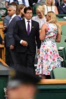 Sadiq Khan, Michael McIntyre - Londra - 16-07-2017 - Finale maschile di Wimbledon: gara di look sugli spalti