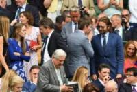 Hannah Bagshawe, Eddie Redmayne, Bradley Cooper - Londra - 16-07-2017 - Finale maschile di Wimbledon: gara di look sugli spalti