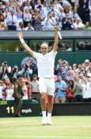 Roger Federer - Londra - 16-07-2017 - Federer, ottavo Wimbledon sotto gli occhi di Kate e William