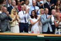 Principe William, Kate Middleton - Londra - 16-07-2017 - Federer, ottavo Wimbledon sotto gli occhi di Kate e William