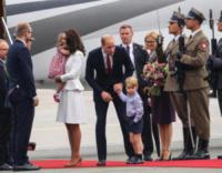 Principessa Charlotte Elizabeth Diana, Principe George, Principe William, Kate Middleton - WARSAW - 17-07-2017 - Baby George in Polonia: la danza del disagio e imbarazzo