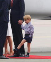 Principe George, Principe William - 17-07-2017 - Baby George in Polonia: la danza del disagio e imbarazzo