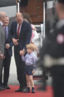 Principe George, Principe William - WARSAW - 17-07-2017 - Baby George in Polonia: la danza del disagio e imbarazzo