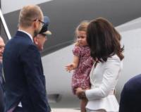 Principessa Charlotte, Principe William, Kate Middleton - WARSAW - 17-07-2017 - Baby George in Polonia: la danza del disagio e imbarazzo