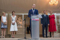 Agata Kornhauser-Dud, Polish President Andrzej Duda, Catherine, Kate Middleton - Varsavia - 17-07-2017 - La battuta di Kate che sta facendo impazzire il Regno Unito