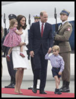 Princess Charlotte, Prince George, ROYALS, Principe William, Kate Middleton - WARSAW - 17-07-2017 - Baby George in Polonia: la danza del disagio e imbarazzo