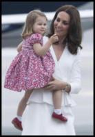 Princess Charlotte, Prince George, ROYALS, Principe William, Kate Middleton - WARSAW - 17-07-2017 - Baby George in Polonia: la danza del disagio e imbarazzo