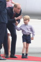 Princess Charlotte, Prince George, ROYALS, Principe William, Kate Middleton - Varsavia - 17-07-2017 - Baby George in Polonia: la danza del disagio e imbarazzo