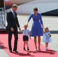 Princess Charlotte, Prince George, Principe William, Kate Middleton - Berlino - 19-06-2017 - Quanti capricci Principe George! Prendi esempio da Charlotte