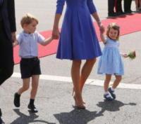 Princess Charlotte, Prince George, Kate Middleton - Berlino - 19-06-2017 - Quanti capricci Principe George! Prendi esempio da Charlotte