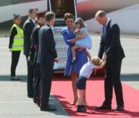 Princess Charlotte, Prince George, Catherine, Principe William, Kate Middleton - Berlino - 19-06-2017 - Quanti capricci Principe George! Prendi esempio da Charlotte