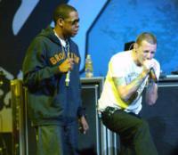 Jay-Z, Chester Bennington - Anaheim - 18-02-2005 - Lutto nella musica, suicida Chester Bennington dei Linkin Park