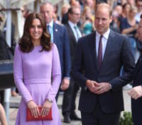 Prince William, Principe William, Kate Middleton - Amburgo - 20-06-2017 - Kate Middleton incinta per la terza volta