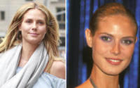 Heidi Klum - New York - 17-06-2016 - Prima e dopo: il miracolo del make up!
