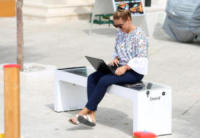 Steora smart bench - Sibenik - 24-07-2017 - Arriva Steora: la smart bench del futuro