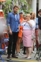 Rebel Wilson, Liam Hemsworth - New York - 24-07-2017 - Priyanka Chopra rinfresca l'alito sul set di Isn't it Romantic