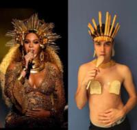 Emanuele Ferrari, Beyonce Knowles - Milano - 25-07-2017 - Emilife: l'imitatore delle dive conquista anche Cara Delevingne
