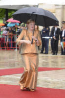 Angela Merkel - Bayreuth - 25-07-2017 - Angela Merkel a teatro col marito Joachim Sauer