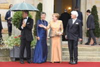 Joachim Sauer, Angela Merkel - Bayreuth - 25-07-2017 - Angela Merkel a teatro col marito Joachim Sauer