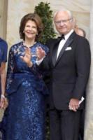 Re Carl Gustav di Svezia, Regina Silvia di Svezia - Bayreuth - 25-07-2017 - Angela Merkel a teatro col marito Joachim Sauer