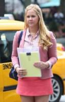 Amy Schumer - New York - 27-07-2017 - Amy Schumer sul set di I Feel Pretty con papà