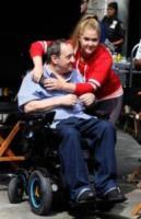 Gordon Schumer, Amy Schumer - Manhattan - 28-07-2017 - Amy Schumer sul set di I Feel Pretty con papà